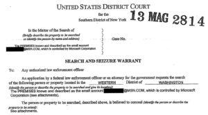Darren Chaker affidavit for warrant
